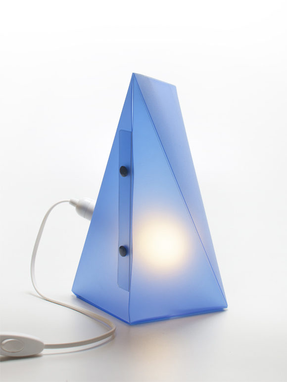 Lampada lightframe blue weew smart design for Arredare made in italy