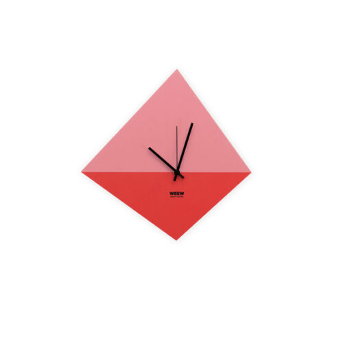 WEEW_Design_Made_in_Italy_Orologio_da_parete_Idee_regalo_per_lei_rosa 01