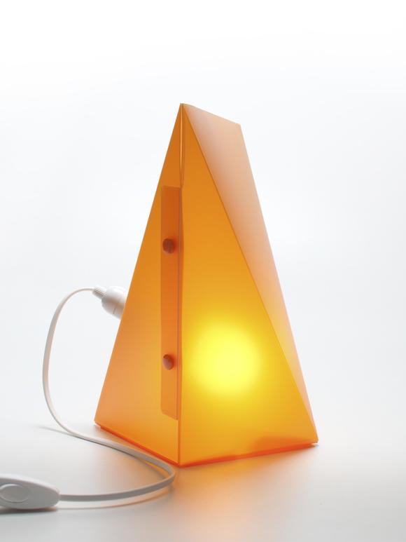 Lampade Da Tavolo Coin Casa : Lampada lightframe orange weew smart design