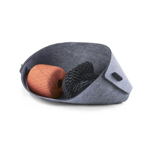WEEW-design-contenitore-scrivania-portaoggetti-feltro-idea-regalo-uomo-MOBY 1