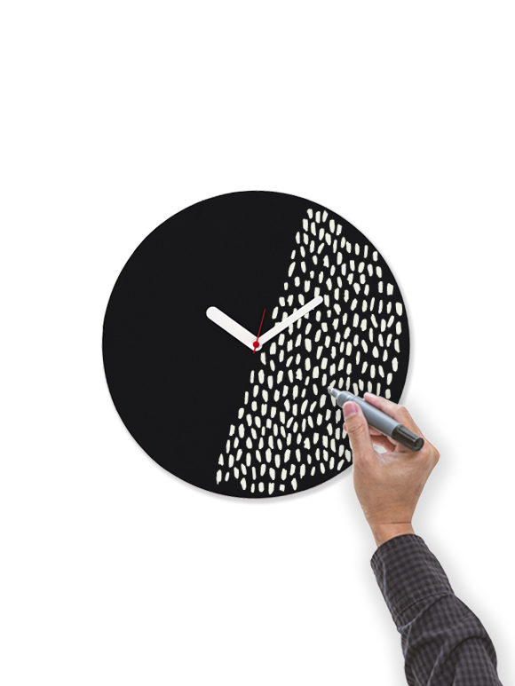 2. WEEW-Design-Made-in-Italy-Orologio-da-parete-orologio-lavagna-personalizzato-Idee-regalo-originali-arredamento-casa-ufficio-nero 02