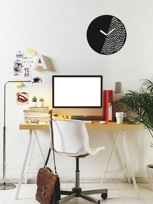Decorative Wall Clock - Customisable for home and office decor