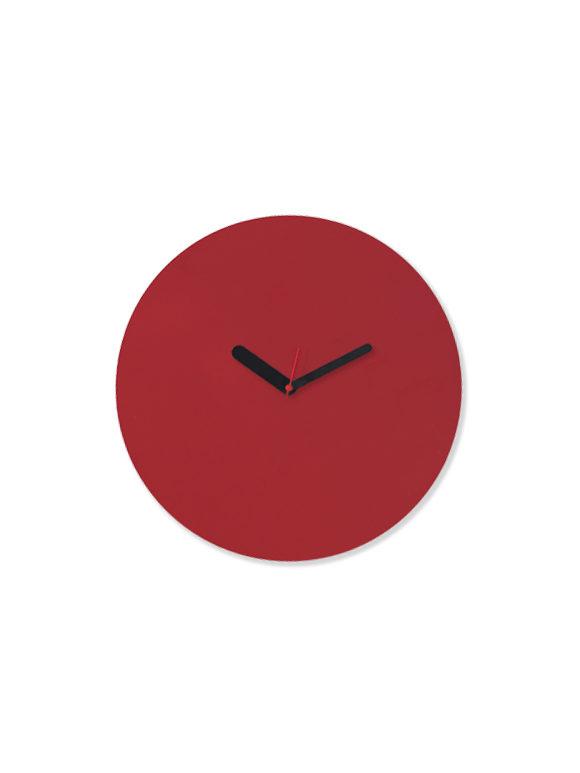 4. WEEW-Design-Made-in-Italy-Orologio-da-parete-orologio-lavagna-personalizzato-Idee-regalo-arredamento-ROSSO 01