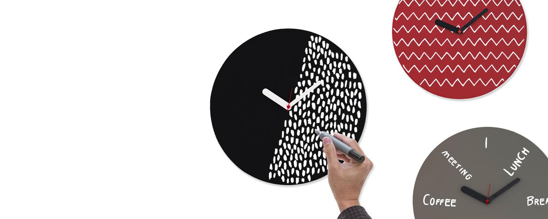 Weew smart design made in italy orologio da parete for Idee per orologio da parete