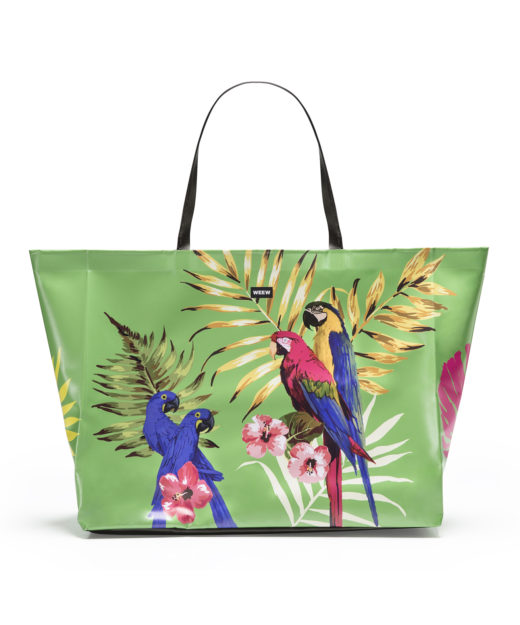 01 WEEW Smart Design-borsa-mare-shopper-bag-tote-bag-city-bag-colorata-fantasia-spiaggia-estate-TROPICAL 01