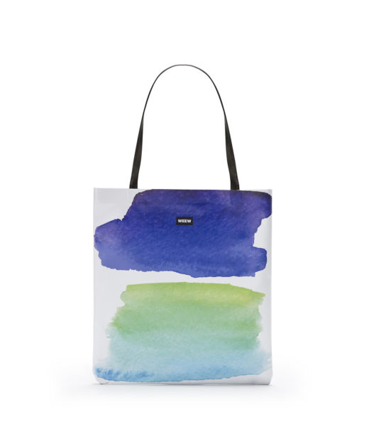 01 WEEW Smart Design-borsa-shopper-bag-colorata-fantasia-estate- ACQUA 01