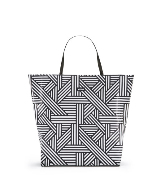 01 WEEW Smart Design-borsa-shopper-bag-tote-bag-fantasia-estate-BIANCO E NERO 01