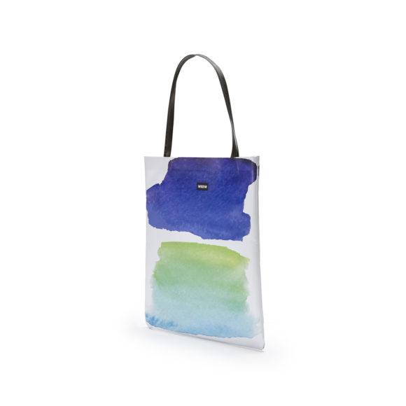 02 WEEW Smart Design-borsa-shopper-bag-colorata-fantasia-estate- ACQUA 02