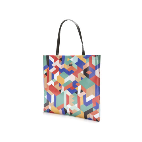 02 WEEW Smart Design-borsa-shopper-bag-tote-bag-city-bag-colorata-fantasia-GEOMETRICO 02
