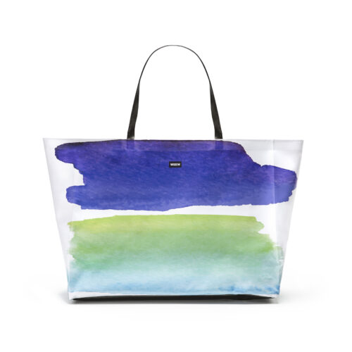 03 WEEW Smart Design-borsa-mare-shopper-bag-tote-bag-city-bag-colorata-fantasia-spiaggia-estate-ACQUA 01