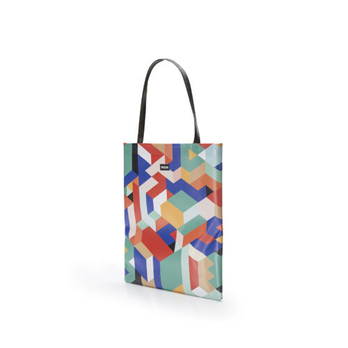 04 WEEW Smart Design-borsa-shopper-bag-colorata-fantasia-GEOMETRICO 02