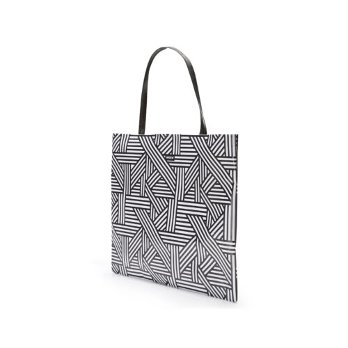 04 WEEW Smart Design-borsa-shopper-bag-tote-bag-city-bag-colorata-fantasia-portadocumenti - BIANCO E NERO 02