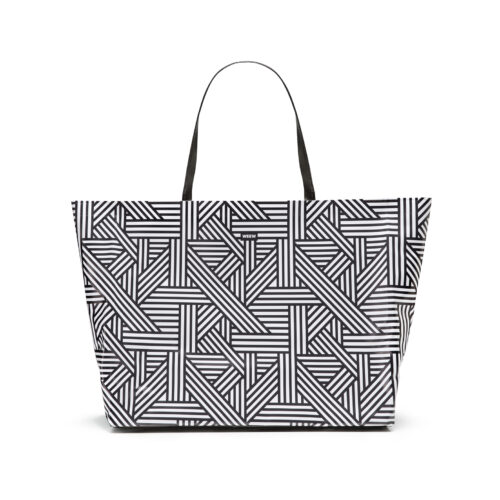 05 WEEW Smart Design-borsa-mare-shopper-bag-tote-bag-city-bag-colorata-fantasia-spiaggia-estate-BIANCO E NERO 01
