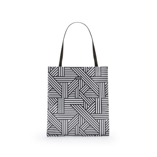 05 WEEW Smart Design-borsa-shopper-bag-colorata-fantasia-BIANCO E NERO 01