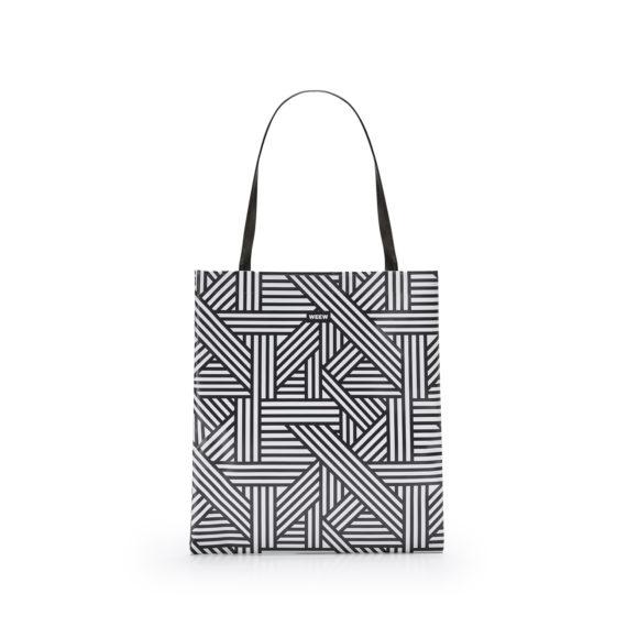 05 WEEW Smart Design-borsa-shopper-bag-colorata-fantasia-BIANCO E NERO 01