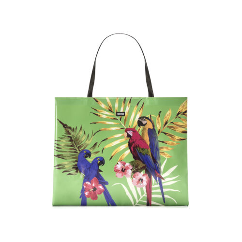 07 WEEW Smart Design-borsa-shopper-bag-tote-bag-city-bag-colorata-fantasia-portadocumenti - TROPICAL 01