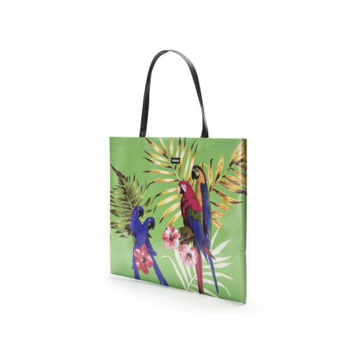 08 WEEW Smart Design-borsa-shopper-bag-tote-bag-city-bag-colorata-fantasia-portadocumenti - TROPICAL 02
