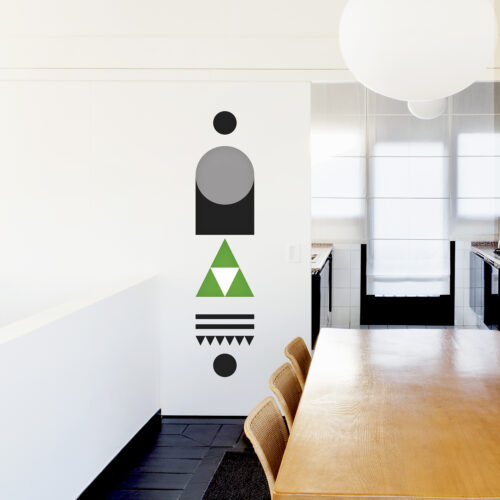 DB-GREEN 3-WEEW-Design-Home-decor-decoration-geometrical-colorful-board-wall-deco