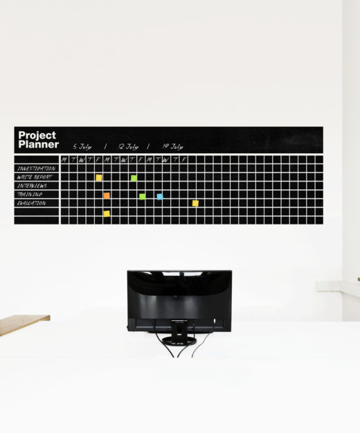 Project Planner Wall Sticker