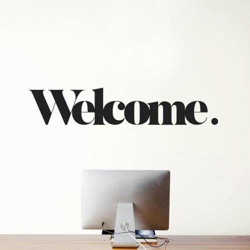 WM-WELCOME 1-WEEW-Smart-Design-Home-decor-wall-deco-Welcome-adesivo-murale-arredamento-casa-ufficio-restyling