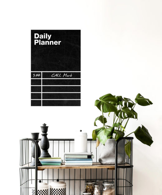 Daily Planner Wall Sticker
