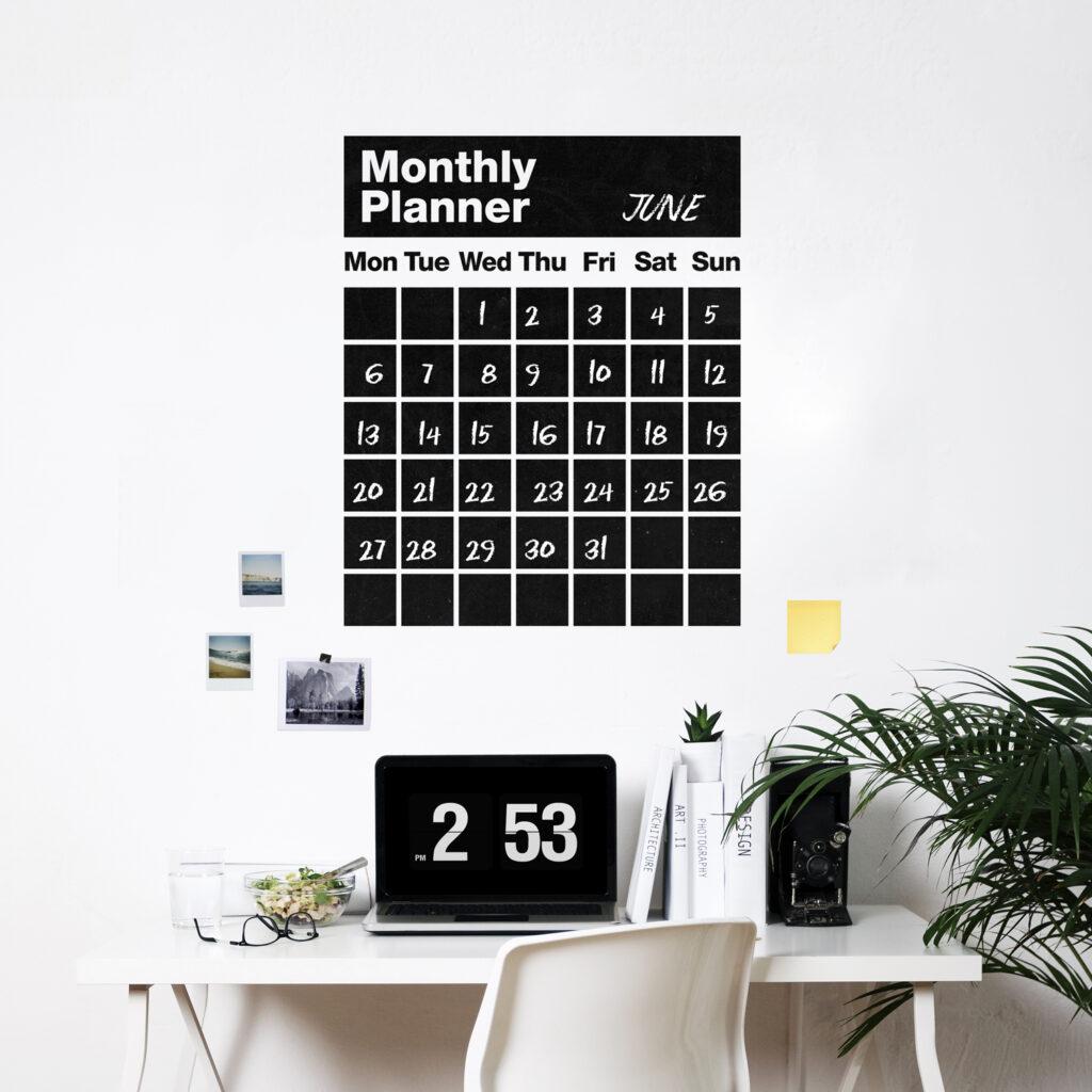Idee Calendario.Wall Stickers Weew Smart Design