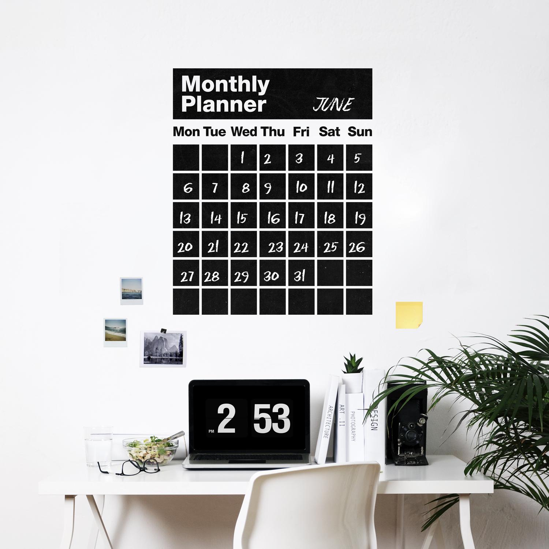 Monthly planner weew smart design for Idee design casa