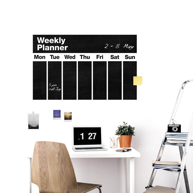Weekly planner weew smart design for Planner arredamento
