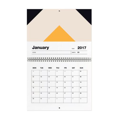 Year Planner 2017 Month