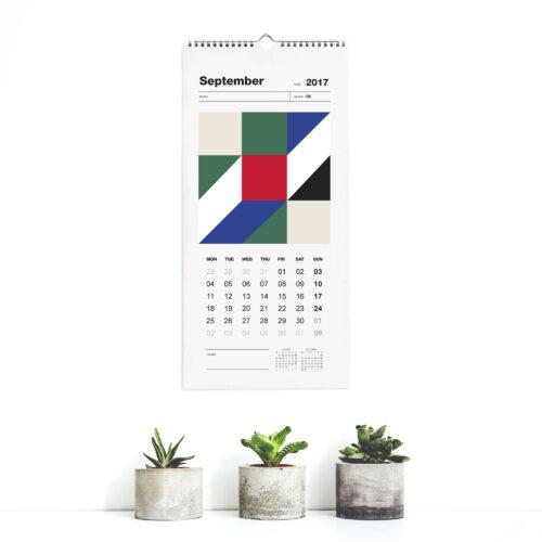 Year Calendar 2017 Month