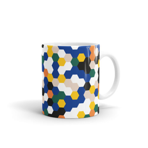3. WEEW Mug Pattern - Hexagon