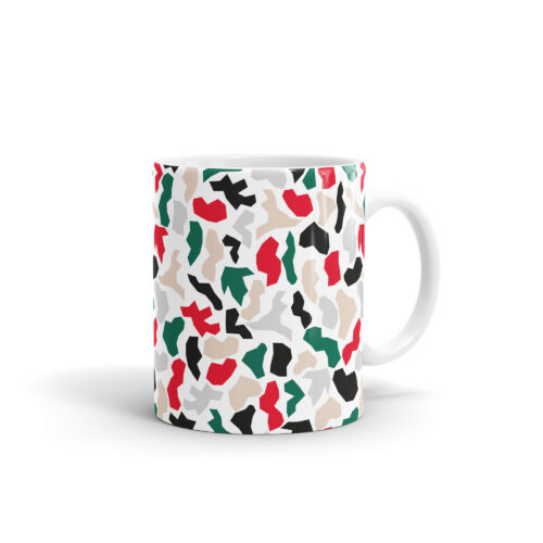 4. WEEW Mug Pattern - Marble